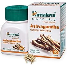 Himalaya Ashwagandha General Wellness |Rejuvenates mind & body | Tablets - 60 Count