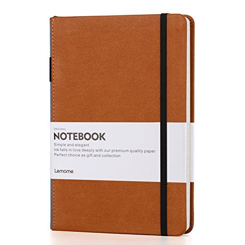 Cuaderno Rayas/Lined Notebook A5 con Bolígrafo Bucle - Lemome Diario Tapa Dura...