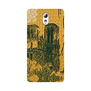 Phone Candy Designer Back Cover with direct 3D sublimation printing for Lenovo VIBE P1m