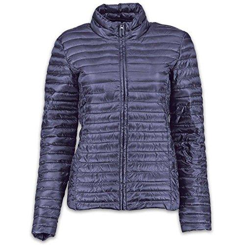 JACQUELINE de YONG - Jdymaddy Plain Nylon Jacke (Blau, XL) Blau Nylon Jacke