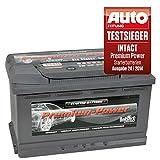 intact Premium Power PP90MF PP80MF Autobatterie 12V 90Ah Testsieger GTÜ 2014