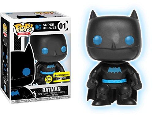 Funko Pop! Vinyl Justice League Batman Silhouette Glow in the Dark exclusiva