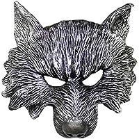 Yukun Máscara Los Animales de Halloween realizan atrezzo Las Partes Deben Tener Baile Divertido de Discoteca Máscaras Decorativas de látex.A