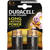 Duracell Plus Power Alkaline Batterien C (MN1400/LR14) 2er Pack