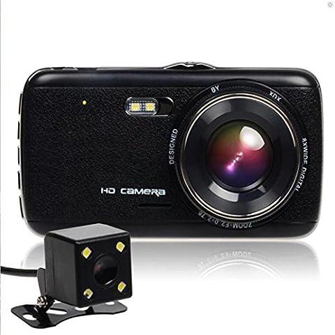 Gaddrt Full HD 1080p voiture DVR caméra g-Sensor véhicule Video Cam Recorder
