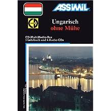 Ungarisch ohne Mühe (1 livre + coffret de 4 CD) (en allemand)