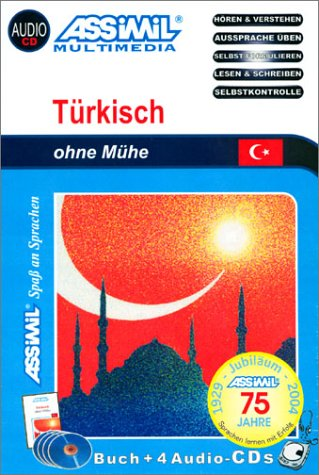 Türkisch ohne Mühe (1 livre + coffret de 4 CD) (en allemand)