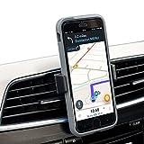 olixar erfinden Mini ausziehbar tragbar Universal Air Vent Halter KFZ Halterung 360grad drehbar Case kompatibel Smartphone für iPhone 7/7Plus/6/6S, Samsung S8Plus, S8, S7Edge, S7, LG, Nexus, HTC, Motorola, Sony, Nokia und andere Smartphones