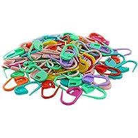 Hilai - 100 pinzas de aguja para tejer, mezcla de colores, ganchillo, cierre de ganchillo