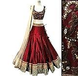 Ladies4Zone Women's red Benglory Silk Em...