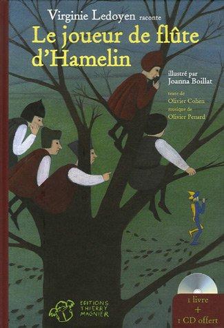 Le joueur de flûte d'Hamelin (Livre & CD)