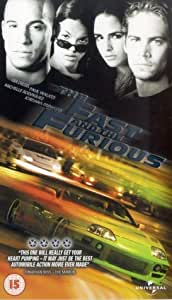The Fast And The Furious [VHS] [2001]