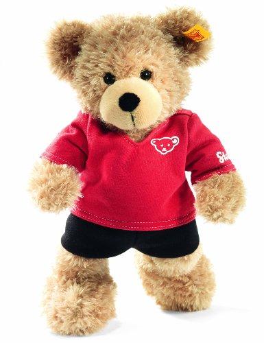 Steiff 111259 - TeddybärFynn Sportler, 28 cm, beige