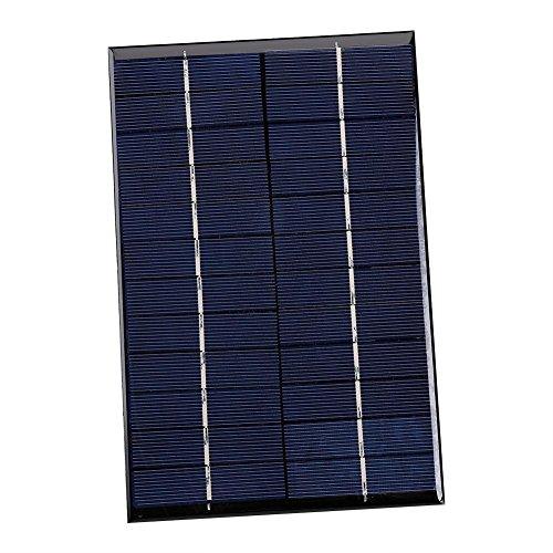 Descripción: Este mini panel solar es de alta tasa de conversión y salida de alta eficiencia. Es perfecto para el power suministro de iluminación de lámpara de patio solar, sistema de iluminación doméstico pequeño, iluminación solar de la calle lámpa...