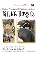 Biting Horses (What Is Wrong with My Horse? Book 17) (English Edition)