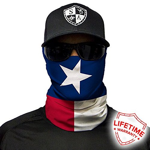 SA Fishing Face Shields (FBA), Texas Flag