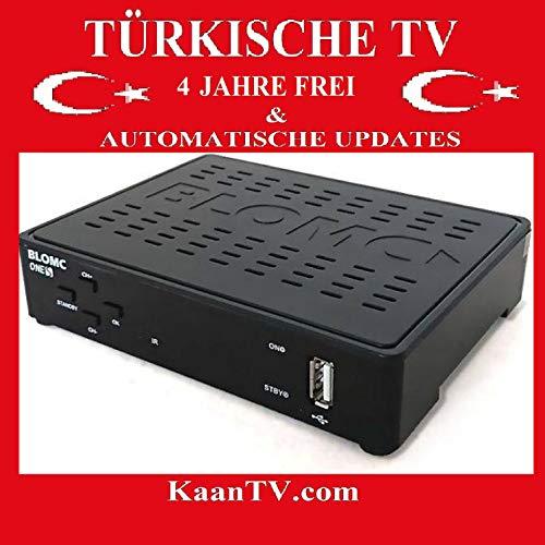 Blomc Ones Türk Sat IP Box + Türkische TV Sender 1 Jahr eingestellt ohne Sat