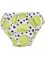 Stylish réutilisables lavables couches de bain Nappies de natation pour les bébés unisexe 2-3 ans, # 17