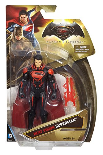 Mattel DPL94 - Batman vs. Superman - Heat Vision Superman - Personaggio 15cm