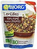 Bjorg Doypack Lentilles au Tofu Fumé aux Légumes Bio 250 g - Lot de 3...