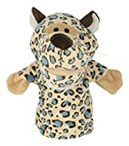 Twisha Hand Puppets With Opening Mouth Cheetah Yellow 25 X 15 X 24 Cms