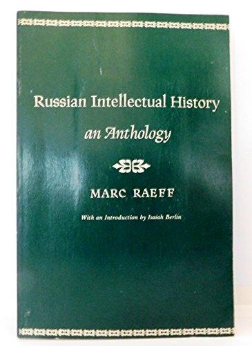 Russian Intellectual History: an Anthology