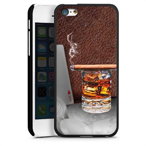 DeinDesign Hülle kompatibel mit Apple iPhone 5c Handyhülle Case Zigarre Whiskey Whisky (Iphone 5c Case Whiskey)
