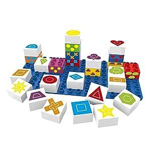 BIOBUDDI Learning Symbols 27 pcs 27pieza(s) - Bloques de construcción de Juguete (Multicolor, 27 Pieza(s), Plaza, Imagen, Preescolar, Niño/niña)