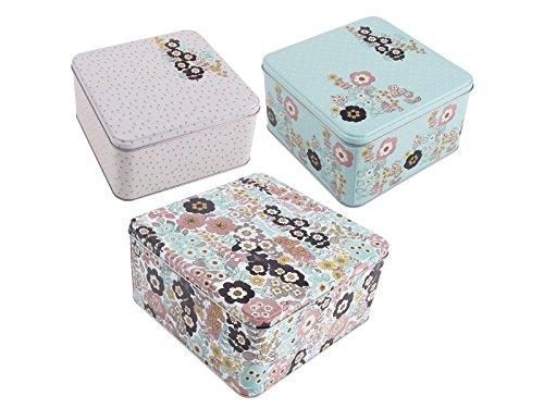 Creative Tops Katie Alice Lot de 3 boîtes à gâteaux gigognes rétro
