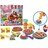 Halo Nation Cake and Ice Cream Clay Set Toy for Kids. Unlimited Fun. No Batteries Required. Make Ice Cream and Cakes with Clay