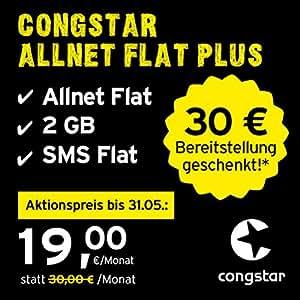 congstar Allnet Flat Plus monatlich kündbar in: Amazon.de