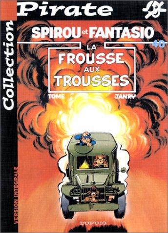BD Pirate : Spirou, tome 40 : La frousse aux trousses