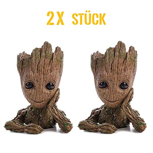 lumentopf - Figur aus Guardians of The Galaxy für Stiftehalter Sukkulenten Kinder ()