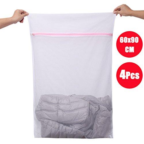 Camiseta,Ropa de Beb/é DoGeek Bolsas de Malla de Lavander/ía Bolsas de Lavado para Ropa Interior Calcetines,Sujetadores Blanco, 6 Pcs