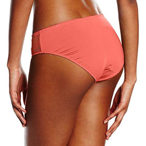 LingaDore Damen Taillenslip Daily Lace Slip Orange (Coral 11)