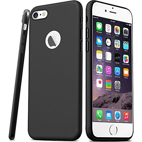 Hülle für iPhone 6 6S, DOSMUNG Handyhülle für iPhone 6 6S- Premium Kratzfest und Ultra Slim TPU Silikon Case Schutzhülle-Schutz vor Scratch, Stößen, Staub, Wasser für iPhone 6 6S 4,7 Zoll Schwarz Test