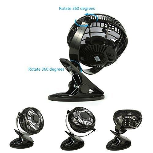 Zoom IMG-1 mini ventilatore usb con clip