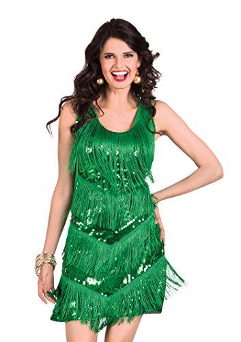 Boland- Costume Albero di Natale Dazzle per Adulti, Verde, M/L, 13421