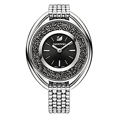 Swarovski Crystalline Oval Black Pulsera Watch de Swarovski