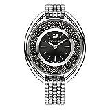 Swarovski Crystalline Oval Black Pulsera Watch