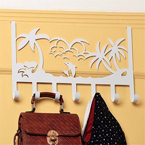 Verdickung Kleidung aufhängen Badezimmer Hook, 39 * 23 CM (Monogramm Kinder Kleidung)