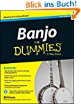 Banjo For Dummies: Book + Online Vide...