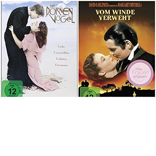 Vom Winde verweht & Die Dornenvögel [DVDs] - 2 Filme -SET