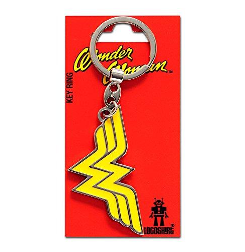 Llavero Wonder Woman Logotipo - Llavero DC Comics - Wonder Woman Logo - Superhéroe - Key-Ring - coloreado - Diseño original con licencia - Logoshirt