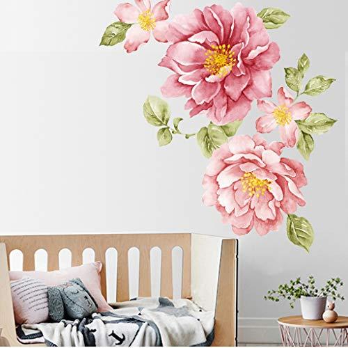 jieGREAT Pivoine Rose Fleurs St...