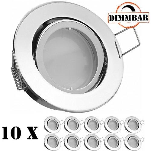 10er LED Einbaustrahler thumbnail