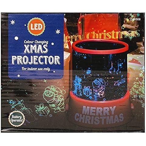 Mr.Caller Feliz natale stella Master Proiettore/Cambia di: lampada LED luci Natale Miglior regalo per qualsiasi persona