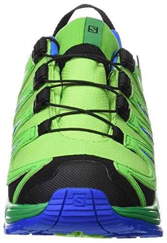 Salomon Unisex-Kinder Xa Pro 3d Cswp J Outdoor-Multisport-Schuhe Grün (Tonic Green/athletic Green X/union)