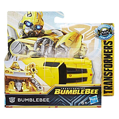 TRANSFORMERS Saga - Robot propulsion Bumblebee Camaro Power series 11cm - Jouet transformable 2 en 1