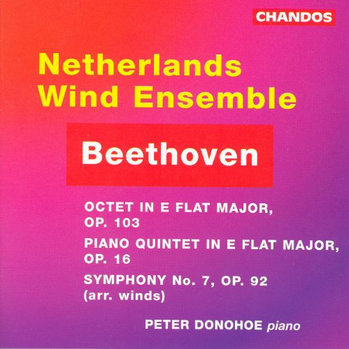 Beethoven: Octet / Piano Quintet / Symphony No. 7 (Arr. for Wind Ensemble) (Wind Piano)
